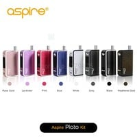 Original Aspire Plato 50W TC Kit Without 18650 Battery Box Mod 4.6ML with 0.4ohm Two Juice Ports Filling Aspire Plato 1Pcs Lot