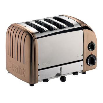 Dualit 4-Slice Copper Toaster (Brown)