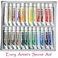 TwinkleVerse Painting Supplies Acrylic Paint Set, 12 ml (18 Color)
