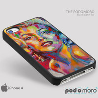 Marlyn Monroe Color for iPhone 4/4S, iPhone 5/5S, iPhone 5c, iPhone 6, iPhone 6 Plus, iPod 4, iPod 5, Samsung Galaxy S3, Galaxy S4, Galaxy S5, Galaxy S6, Samsung Galaxy Note 3, Galaxy Note 4, Phone Case