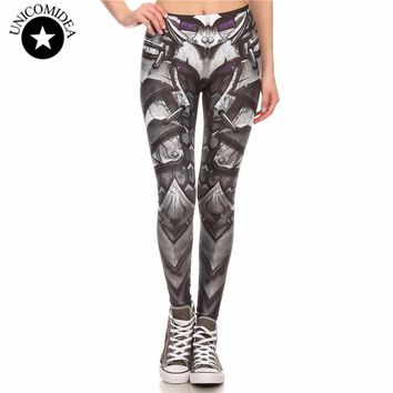 2018 New Arrival Brand Legins COMIC ARMOR LEGGING Printed Women Leggings