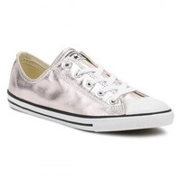Converse All Star Chuck Taylor Womens Dainty Ox Rose Quartz/Black/White Trainers
