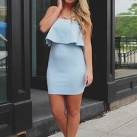 Irresistible Blues Dress