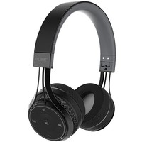 BlueAnt - Pump Soul On Ear Wireless HD Headphones, Stylish, Audio with One Touch Controls (Black)