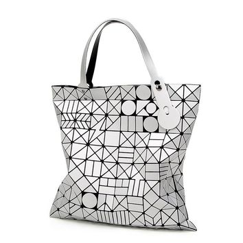 European Style Women Bag tote Big Geometric Bao Bao Issey Miyak Bag Luxury Brand Designer High Quality BaoBao Handbag Bags 856