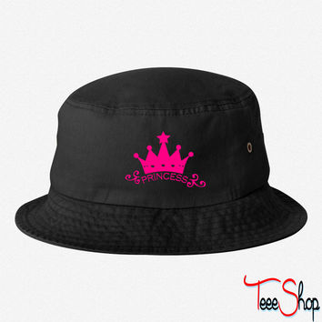 Princess Bride crown bucket hat