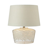 "979004 18"" Flurry Frit Well Boutique Glass  Table Lamp - Free Shipping!"