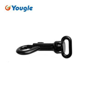 YOUGLE 50pcs/lot Plastic Swivel Spring Buckle for Keychain Dog Chain Paracord Belt Survival Equipment