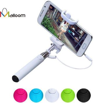 DCCKJY1 Universal Self Selfie Stick Monopod for iPhone 6 Plus Palo Selfie Remote For Samsung Android IOS Camera Tripod Wire Para Selfie