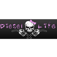 "Lady Diesel Life 8"" X 2 3/4"" Decal"