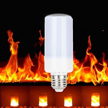 5W 360°Flame Flickering Effect Fire Light Bulb Decorative Holiday