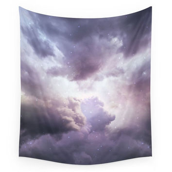 Society6 The Skies Are Painted II (Cloud Galaxy) Wall Tapestry