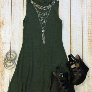 Make Your Mock Tunic Dress: Olive