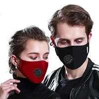 1pcs Reusable Cotton Mouth Mask Cover Respirator PM2.5 Anti-Dust Face Mask
