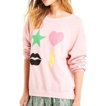 Power Icons Sommers Sweater - Wildfox