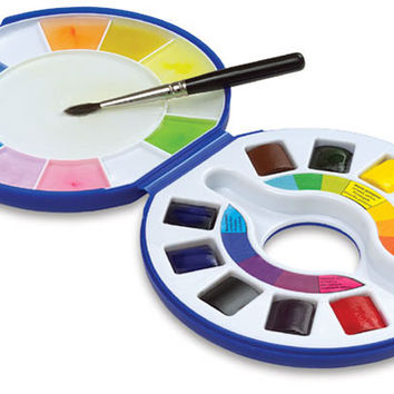 01710-1010 - Raphaël Watercolor Travel Pan Set - BLICK art materials