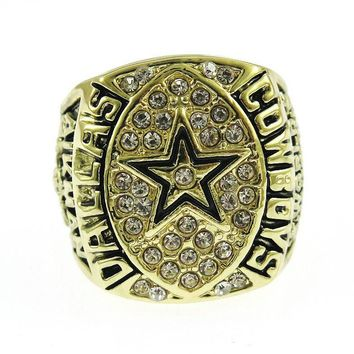 Sanyu New Design 1992 Dallas Cowboys Team Ring  Unisex Jewelry Sport Style For  Fans Gifts