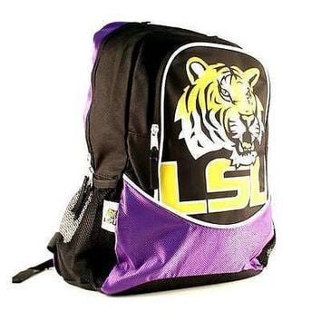 LSU Tigers NCAA Premium Hype Backpack
