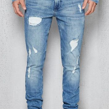 DCCKYB5 Skinny Destroyed Hiroshi Wash Stretch Jeans