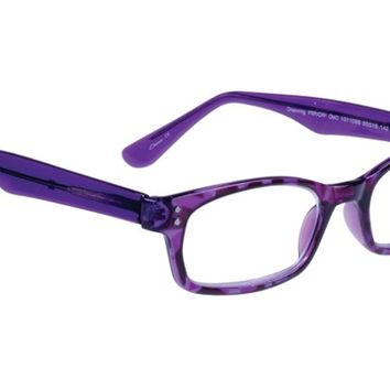Womens | Reading Glasses | Corinne McCormack | Channing (Purple) |