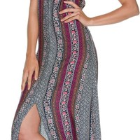 SWELL LESTER PRINTED MAXI DRESS