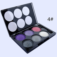 6 Colors Glitter Smoked Eye Shadow Palette