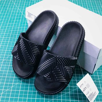 Alexander Wang By Adidas Originals Adilette Sandals #11 - Best Online Sale