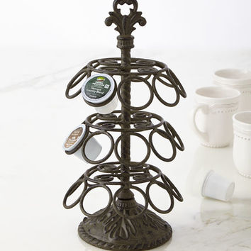 G G Collection Acanthus Pod Holder