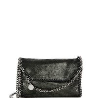 Stella McCartney - Falabella Faux Leather Fold-Over Chain Crossbody Bag