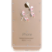 SALE!!! iPhone, 6, Plus, Case, Dragonfly, Rhinestone, Handmade, Dragonfly Story