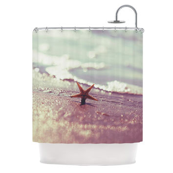 """Libertad Leal """"You are a Star"""" Shower Curtain"""