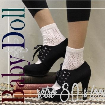 lace socks women boot sock lacey socks from Catherine Cole