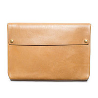 Leather Portfolio Case (Tan)