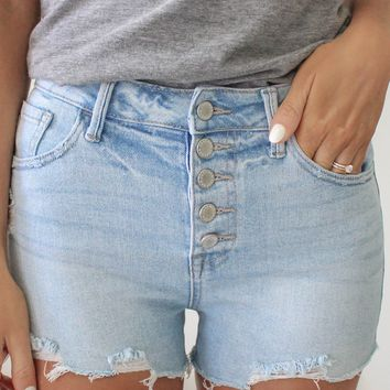 Knoxville Denim Shorts - Light Wash