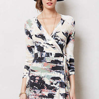 Anthropologie - Splashed Wrap Dress