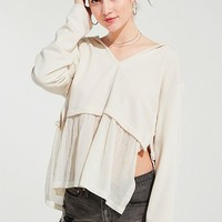 UO Cameron Peplum Tunic Top | Urban Outfitters