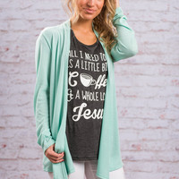 Undeniable Cardigan, Mint