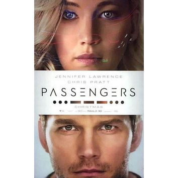 Passengers poster Metal Sign Wall Art 8inx12in