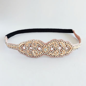 Astoria Beaded Headband