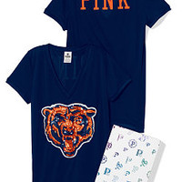 Chicago Bears Bling Athletic Tee - PINK - Victoria's Secret