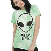 Believed In You Alien Girls T-Shirt