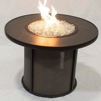 """Stonefire 32"""" Fire Pit Table-Burner-Cov Qty of 1"""