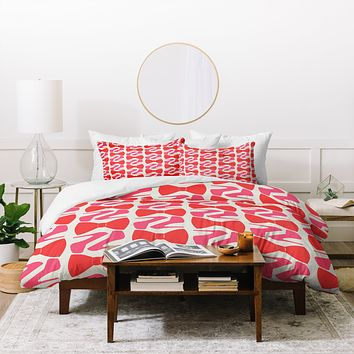 Allyson Johnson Date Night Duvet Cover