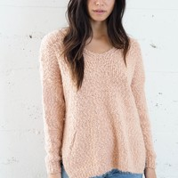 Luella Sweater - Peach