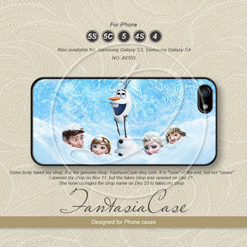 Disney, Frozen, iPhone 5 case, iPhone 5C Case, iPhone 5S case, Phone cases, iPhone 4 Case, iPhone 4S Case, iPhone case, FC-0703