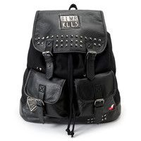 Glamour Kills Rucker Black Rucksack Backpack at Zumiez : PDP