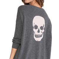 360 Sweater Luther Side Button Tunic in Charcoal