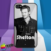New Blake Shelton Country Music iPhone 4 or iPhone 4S Case