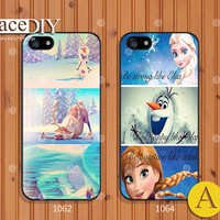 Disney frozen, Phone cases, iPhone 5 case, iPhone 5s case, iPhone 5c Case, iPhone 4 case, iPhone 4s case, Cover Skin, frozen--A09