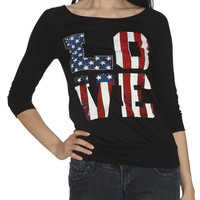 Love Lace Back Sweatshirt | Shop Tops at Wet Seal
